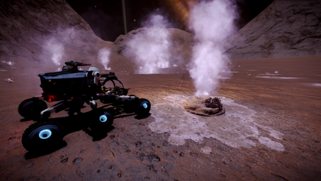 Elite Dangerous: Groping for Geysers